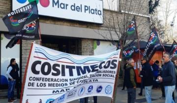 Imagen de No se emiten noticieros en Mar del Plata por el paro de trabajadores de la televisión