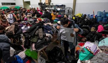 Imagen de Ante las bajas temperaturas aumenta la ayuda: alojamiento, comida, abrigo y hasta duchas calientes