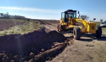Imagen de Continúan las obras en los caminos rurales de Tordillo