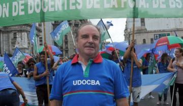 Imagen de Murió Miguel Díaz, secretario general del gremio docente bonaerense de Udocba