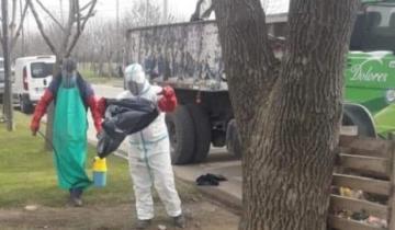 Imagen de Triple bolsa y recolección diferenciada: cómo se recogen los residuos de las personas con Covid 19 en Dolores