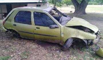 Imagen de Le sacó el auto a su papá y la policía lo persiguió: volcó y murió