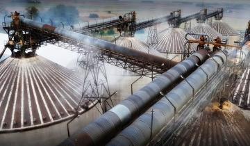 Imagen de Trágico accidente laboral: tres trabajadores murieron asfixiados mientras limpiaban un silo de girasol