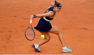 Imagen de Quién es Nadia Podoroska, la rosarina con apellido ruso que sorprende a todos y está en semifinales de Roland Garros