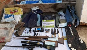 Imagen de Allanamiento en Dolores: se recuperaron pertenencias en una vivienda rural