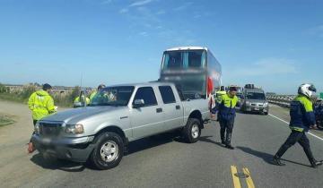Imagen de Feriado de carnaval: tres heridos tras un accidente en Ruta 11