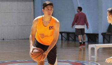 Imagen de El basquetbolista costero que arrancó en San Bernardo y hoy entrena en San Lorenzo