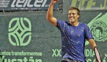 Imagen de Santiago de la Fuente, cómo es ser campeón mundial de tenis a los 16 años