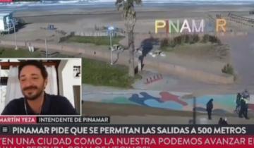 Imagen de Pinamar: entrevistaban a Yeza y la policía detuvo a un vecino por violar la cuarentena