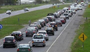 Imagen de Es intenso el tránsito en las rutas de la región