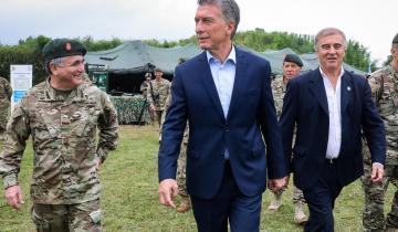 Imagen de Macri presentó el nuevo equipamiento del Ejército