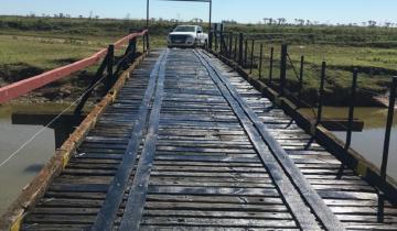 """Imagen de General Guido: trabajos culminados y habilitación del puente """"Lazcano"""""""
