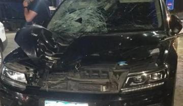 Imagen de Ruta 2: el ex arquero de la selección, Pablo Cavallero, atropelló y mató a un hombre