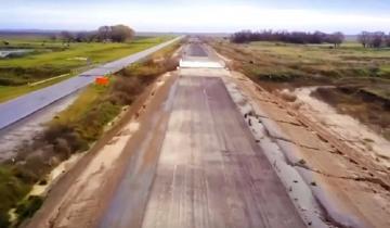 Imagen de Ruta 11: Alberto Fernández junto a los intendentes anunció la reanudación de la Autovía La Costa-Tordillo