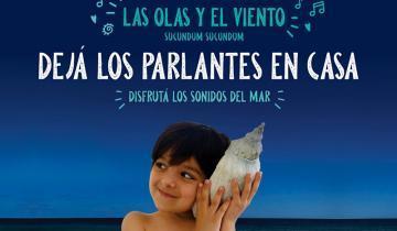 Imagen de La campaña para desalentar el uso de parlantes en la playa que se hizo viral