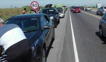 Imagen de Choque múltiple en la Ruta 11: 21 personas atendidas y seis trasladadas