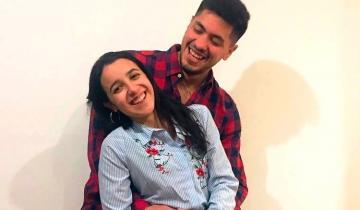 Imagen de La emotiva despedida a Braian Toledo de su novia Sofía Lamarque