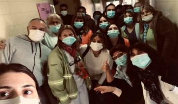 Imagen de Dolores: el Hospital San Roque quedó hoy sin pacientes Covid