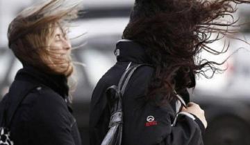 Imagen de Se renueva el alerta meteorológico por vientos fuertes con ráfagas en la región