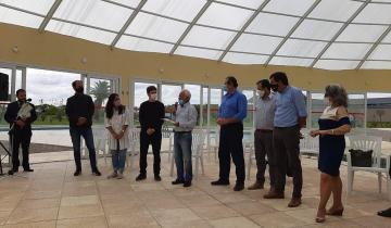 Imagen de El ministro de Producción entregó subsidios para la reactivación del turismo y la cultura en la región