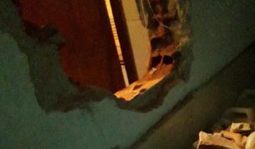 Imagen de Mar del Plata: hicieron un boquete para robar y los atraparon dentro del local