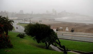 Imagen de Alerta meteorológico para la Región por vientos fuertes con ráfagas