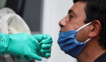 Imagen de Coronavirus: hay 2.606 nuevos casos en el país, más de la mitad (1.482) en la Provincia